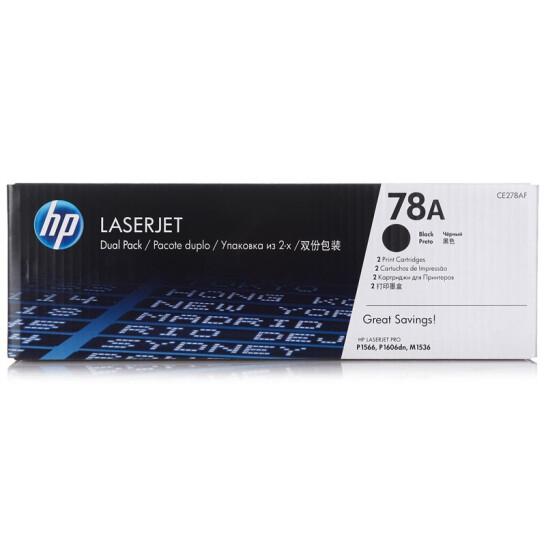 惠普(HP)CE278A 黑色硒鼓 78A(适用P1566 P1606dn M1536dnf)