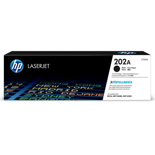 惠普(HP)CF500A 202A黑色硒鼓(适用于M254/M280/M281)