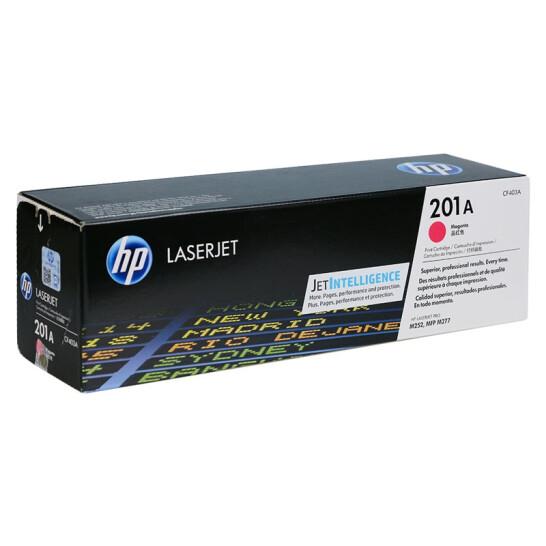 惠普(HP) CF403A 201A 原装硒鼓 (适用M252N 252dw 277N 277DW) CF403A红色硒...