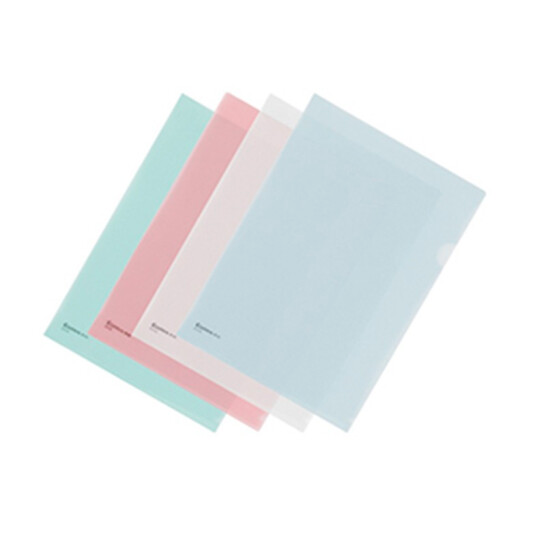 齐心(COMIX) E310 A4二页文件套 透明